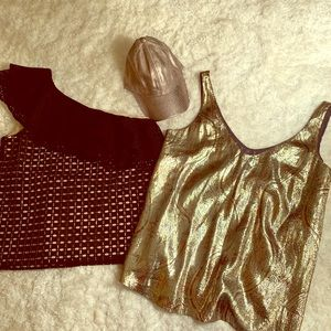 Bundle of J.Crew tops and a hat